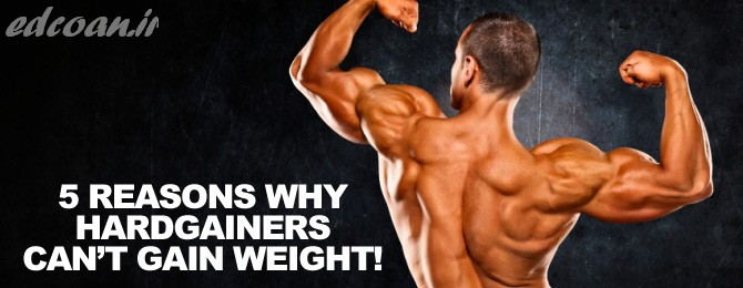5 Reasons Why Hardgainers Can't Gain Weight Or Build Muscle